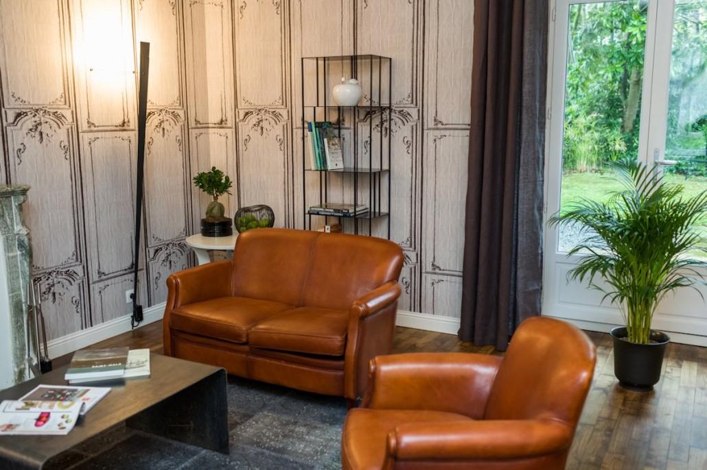 Villa Saint Raphael, maison d'hôtes Saint Malo : salon