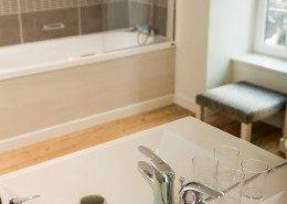 Villa Saint Raphael, maison d'hôtes Saint Malo : salle de bain