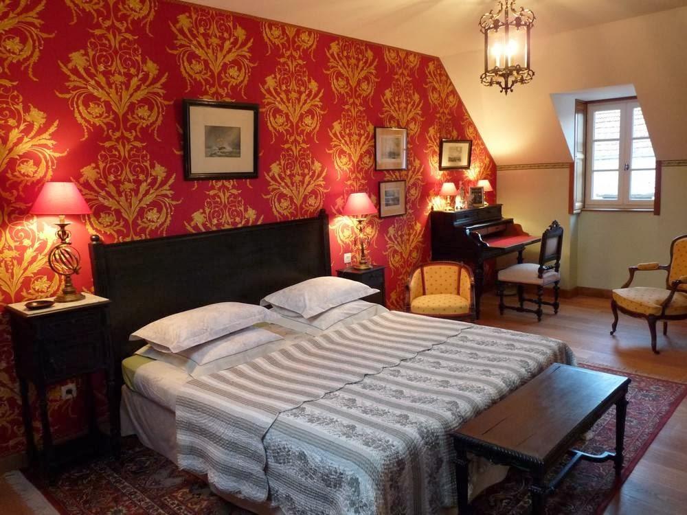 Maison d'hôtes Carpe Diem, Massangis : chambre Eugénie