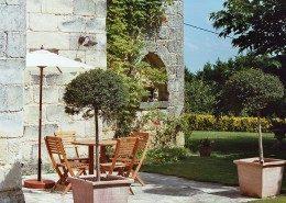 Le Castel De Camillac, Bourg en Gironde (Aquitaine) : terrasse