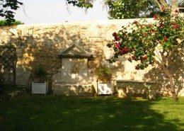 Le Castel De Camillac, Bourg en Gironde (Aquitaine) : le jardin