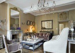Hôtel De Suhard, maison d'hôtes Bellême : salon