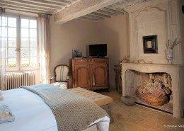 Hôtel De Suhard, Bellême : chambre Nicolas Chartier