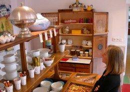 Les Glycines, maison d'hôtes de charme à Billiers (Bretagne) : le petit déjeuner