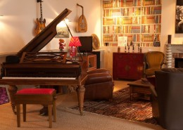 Les Glycines, Billiers (Morbihan) : salon