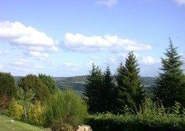 Les Terrasses de Jean, Pierrefitte en Auge : panorama