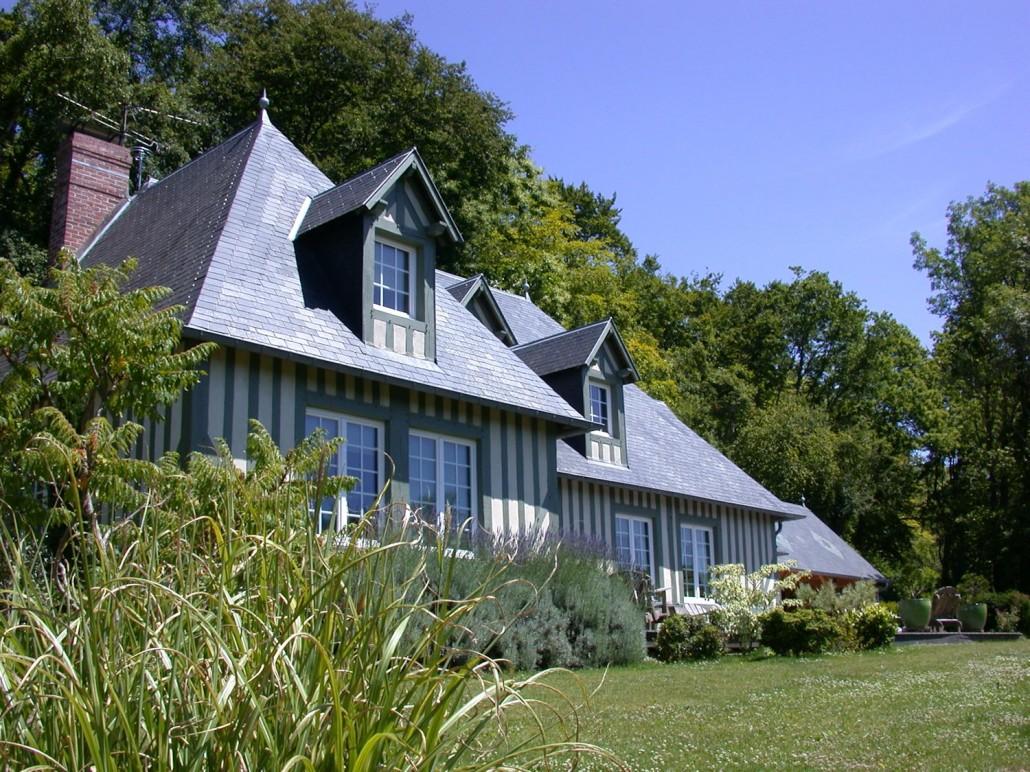 Les terrasses de jean chambres d 39 h tes pierrefitte en auge - Normandie chambre d hote ...