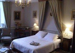 Manoir de la Baronnie, Saint Malo (Bretagne) : chambre du gouverneur