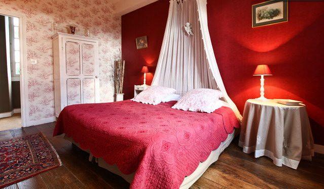 Manoir de la Baronnie, Saint Malo (Bretagne) : chambre des anges