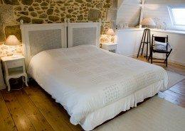 Villa Christilla, Saint-Lunaire (Bretagne) : chambre