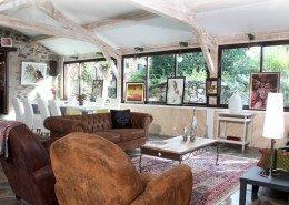 La Belle Epoque, chambres d'hôtes à Sansac de Marmiesse : salon