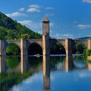 Cahors, pont Valentré (tourisme cahors)