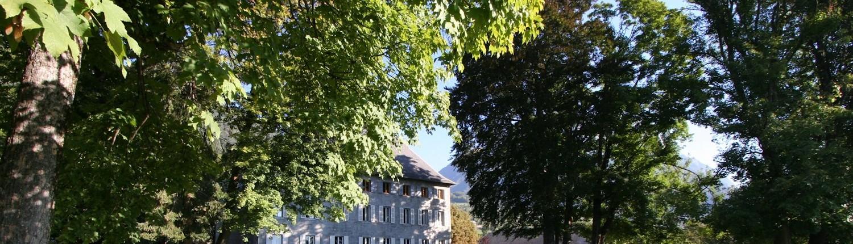 Château des Allues, Saint Pierre D'Albigny : le parc