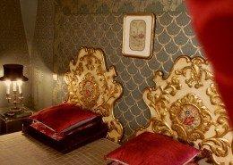 Chateau de Kerlarec, Arzano (Bretagne) : chambre