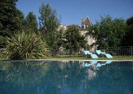Chateau de Kerlarec, Arzano (Bretagne) : la piscine