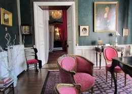 Chateau de Kerlarec, Arzano (Bretagne) : le salon