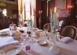 Chateau de Kerlarec, Arzano (Bretagne) : salle à manger
