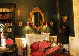 Chateau de Kerlarec, Arzano (Bretagne) : salon