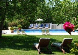 Le Clos Lascazes, chambres d'hôtes Paleyrac (Dordogne) : piscine