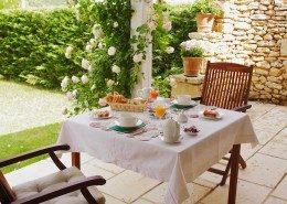 Le Clos Lascazes, chambres d'hôtes Paleyrac (Dordogne) : petit déjeuner