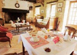 Le Clos Lascazes, chambres d'hôtes Paleyrac (Dordogne) : salon