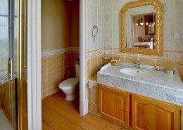 Domaine De Gaudon, Ceilloux : salle de bain la Licorne