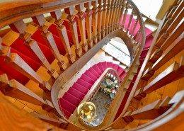 Domaine De Gaudon, Ceilloux : escalier