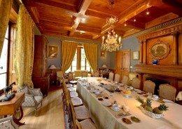 Domaine De Gaudon, Ceilloux : salle de petit déjeuner