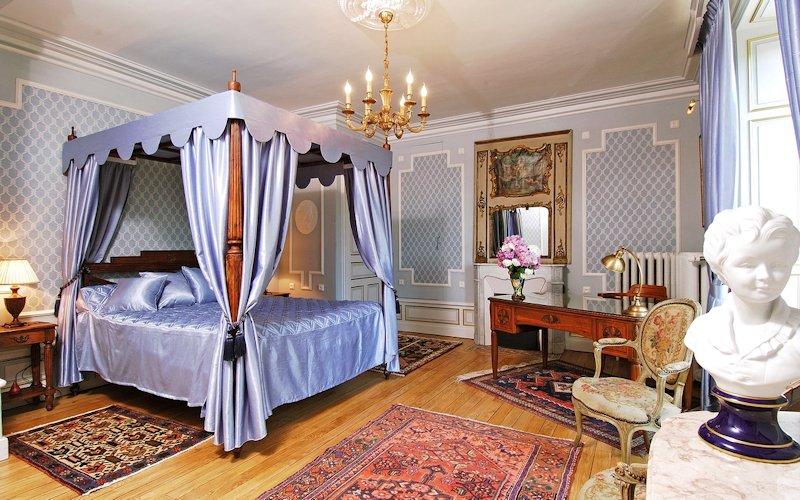 Domaine De Gaudon, Ceilloux : chambre Beaumarchais