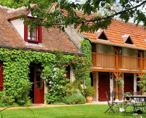 Domaine de Montizeau, chambres d'hôtes de charme Lailly en Val (Loiret)