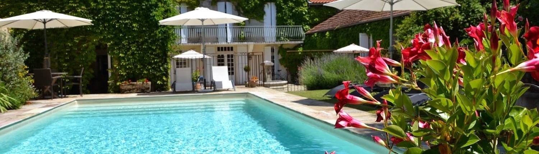 La Baguenaude, Marciac : piscine