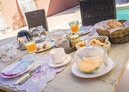 La Loge Vigneronne, chambres d'hôtes à Changy : petit déjeuner