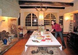 Maison Grandchamp : salle à manger