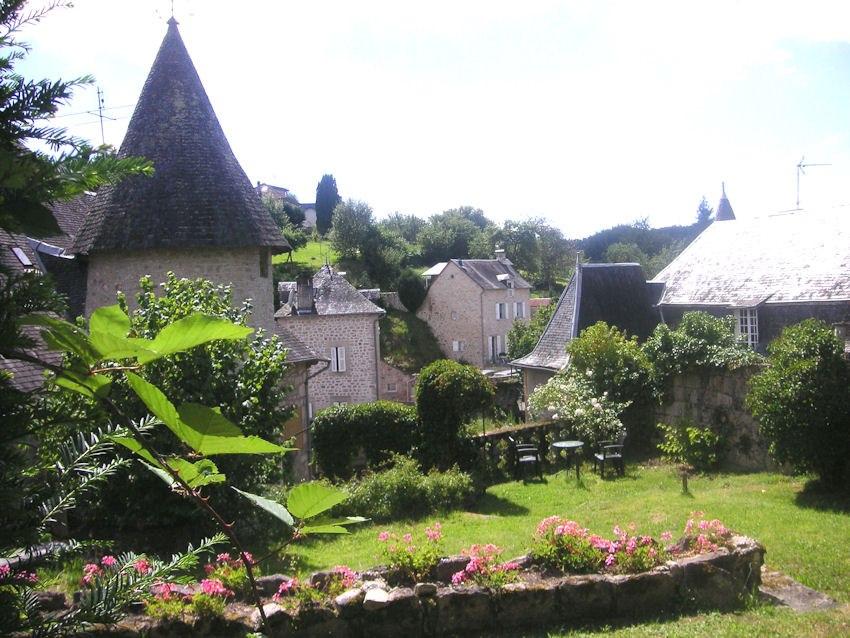 Maison Grandchamp, Treignac : jardin