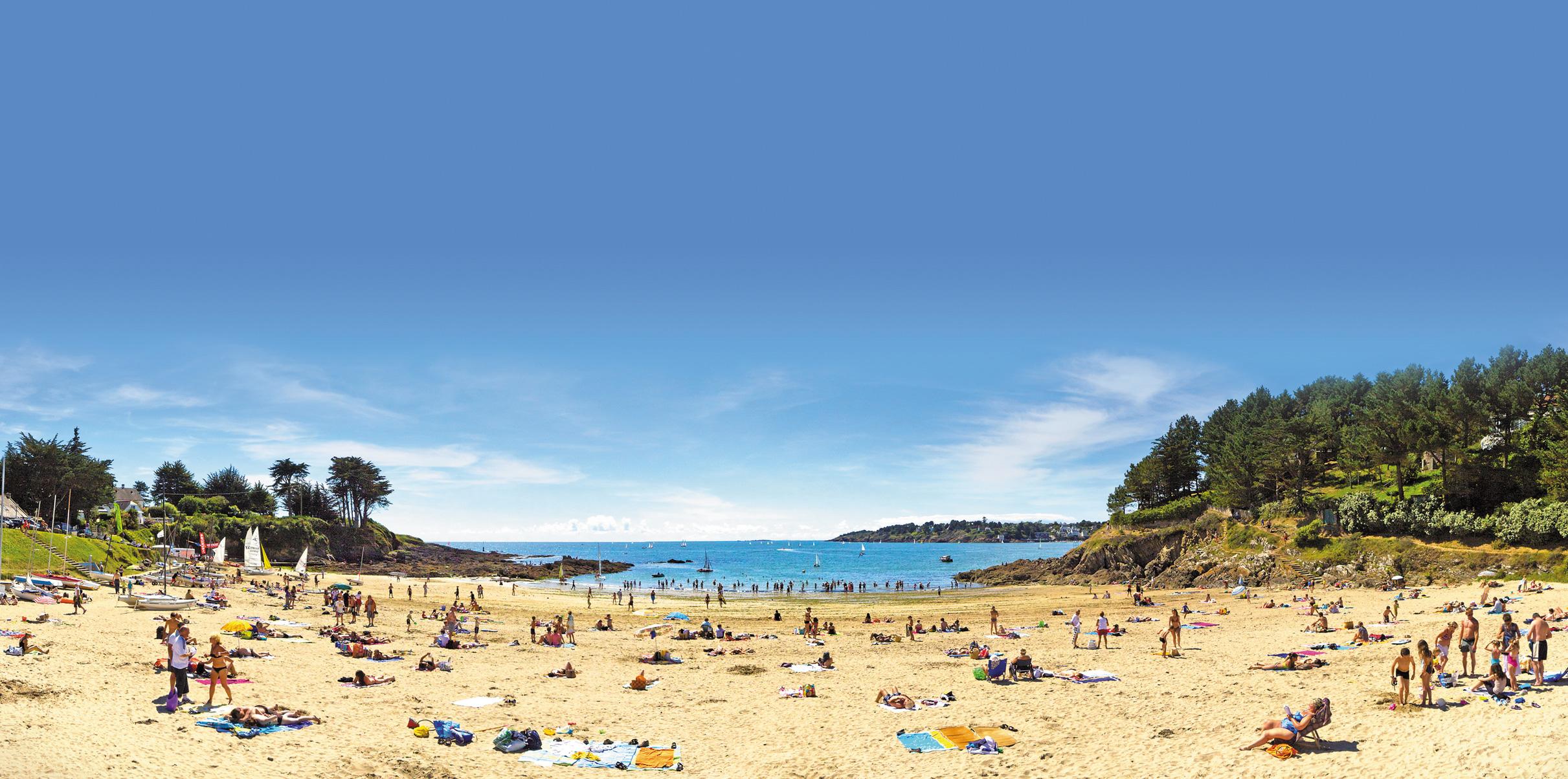 Quimperlé : plage de Kerfany