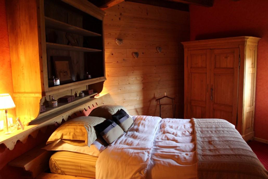 Chambre côté terrasse - La Grange du couvent, Ribeauvillé