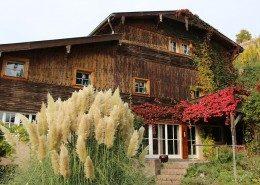 La maison d'hôtes vue du jardin - La grange du couvent Ribeauvillé