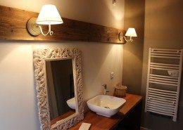 La grange du couvent Ribeauvillé - salle de bain cote cour